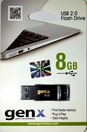 Flash Drive 8GB- Genx