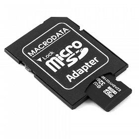 Micro SD 8GB- Macrodata with adaptor