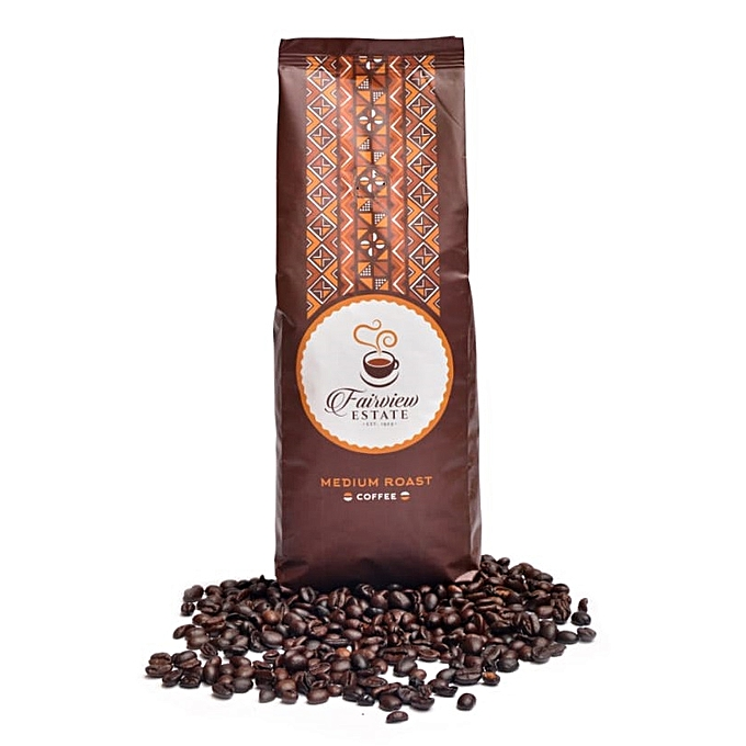 Medium Roast Ground Coffee Beans - 500 g