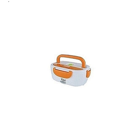 Generic Electric Lunch Box - White and Orange