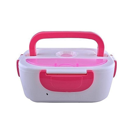 Skyland Electric Lunch Box - Pink & White