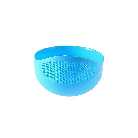 Generic Rice Drainer Colander - Small Size - Blue