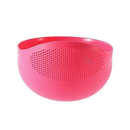 Generic Rice Drainer Colander - Small Size - Pink