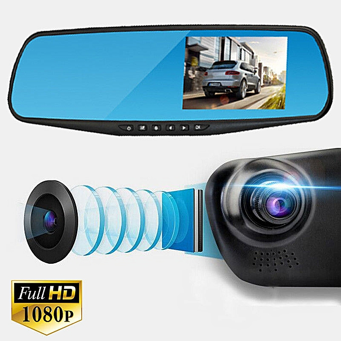 Generic Vehicle rear view dual recording Camera