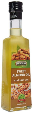 Hemani Sweet Almond Oil Clear 250 ml