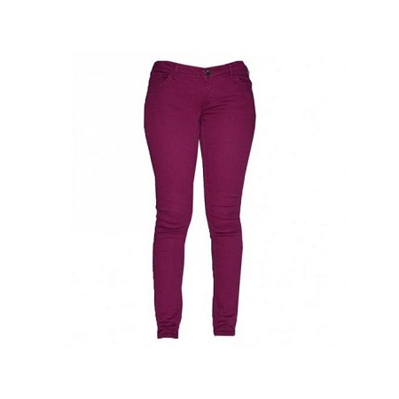 Forever Young Purple Girl's Skinny Pants