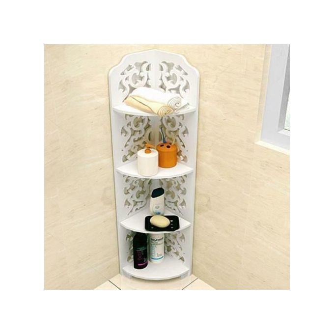 Generic 4 Tier Bathroom Shelf Corner Rack Organizer