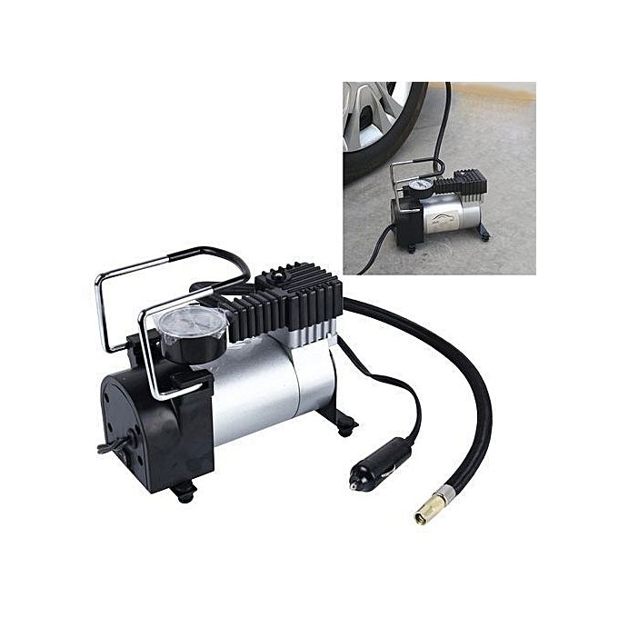 Generic Air compressor Single cylinder heavy duty-Stainless And Black