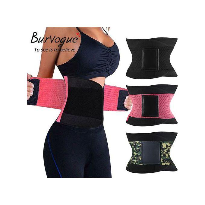 Generic Body Shaper Uni Waist Trimmer Tummy Slimming Belt Latex Waist Trainer For Men Women