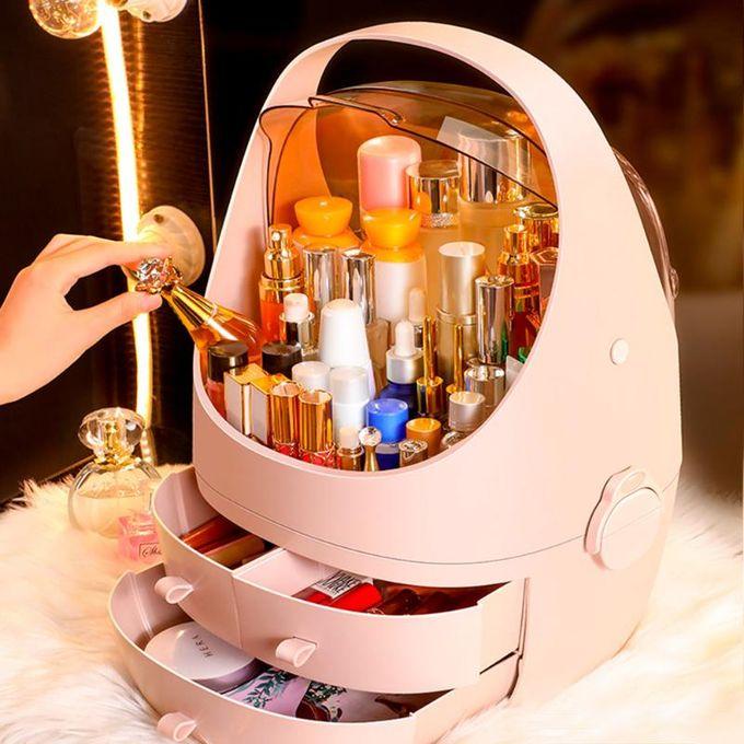 Generic Dustproof Cosmetic Organiser/Storage Rack