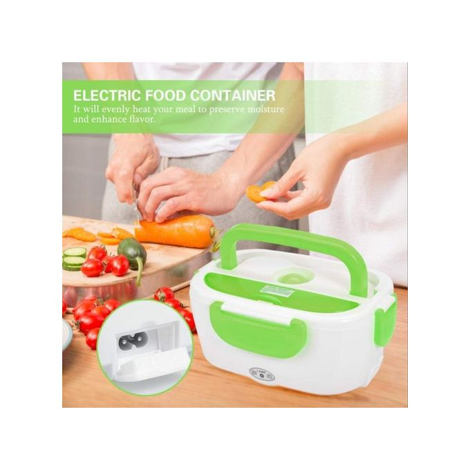 Generic The Electric Lunch Box - White & Green