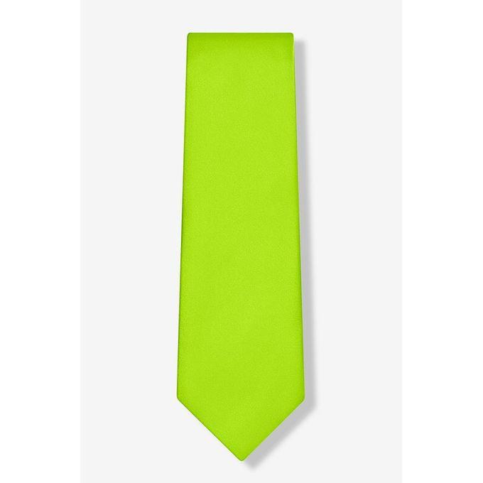 Fashion Men's Women Satin Neck Tie - Green