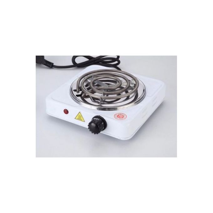 Generic Hot Plate Electric Single Sprial Hotplate Cooker-White