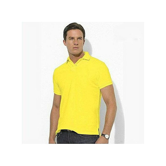 Pilot Men Polo Shirt - yellow