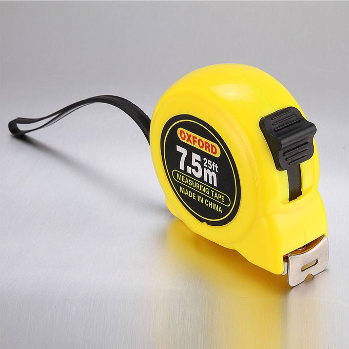 Retractable Measuring Tape 25ft , Length: 7.5m