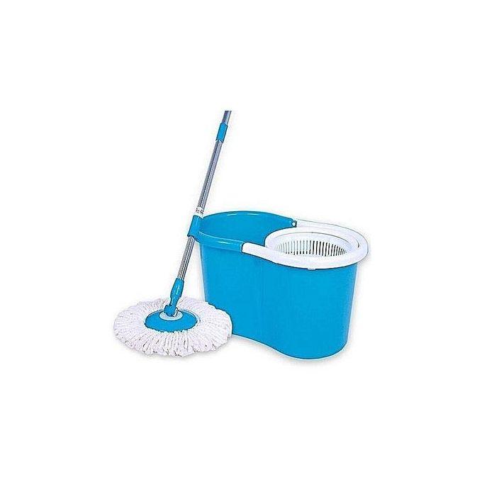 Generic Spin Mop & Bucket Set - Blue