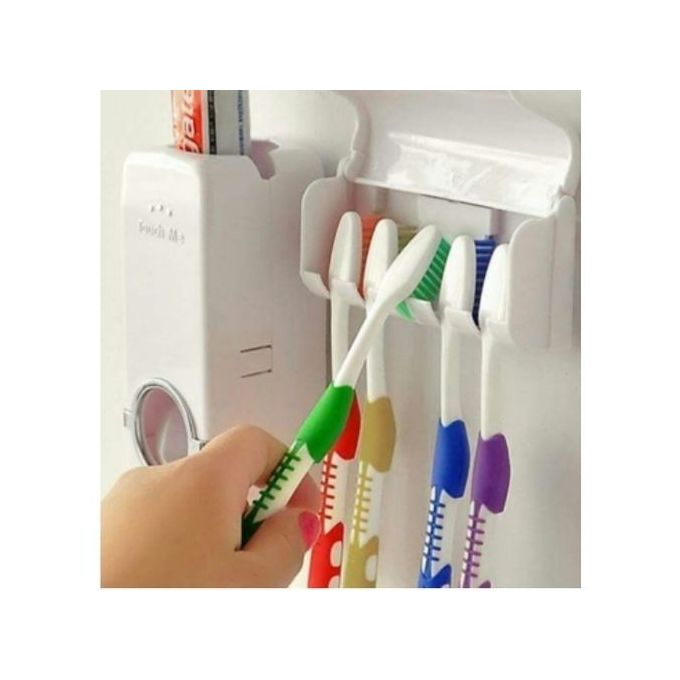 Touch Me Toothpaste Dispenser