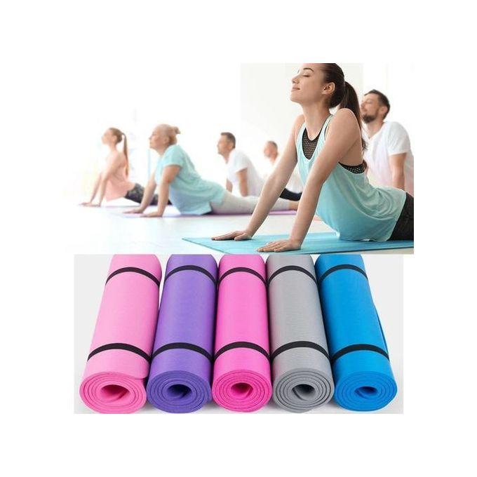 Generic Yoga Mat- Non Slip Exercise Pad