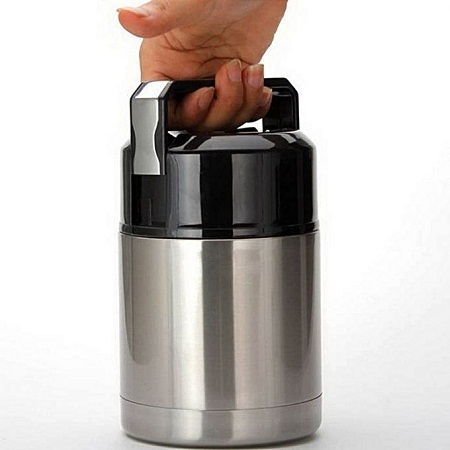 Large Capacity 800ML Insulated Cup Vacuum Flasks & Thermoses Thermo cup Lunch Thermos