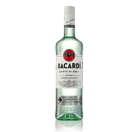 Bacardi Carta Blanca Rum - 700 ml