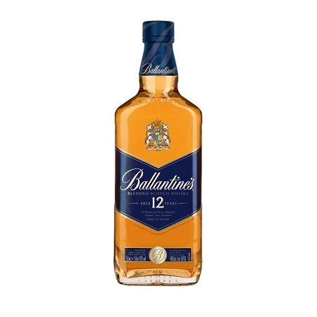 Ballantine's 12 Years Old Whisky - 750ml