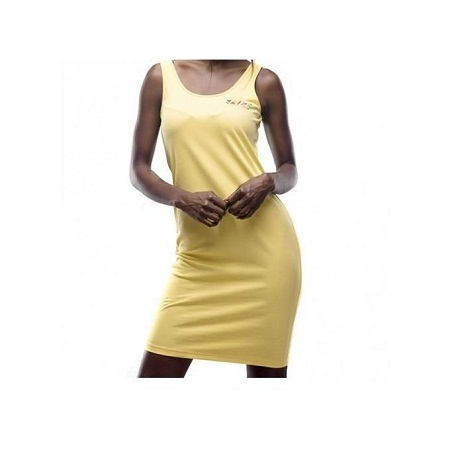 Forever Young Yellow Women's Summer Dresses