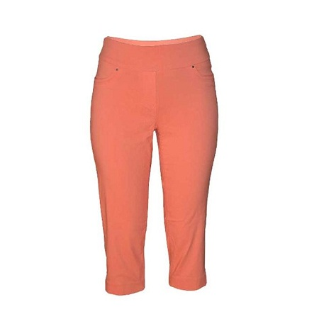 Forever Young Orange Capri Pants
