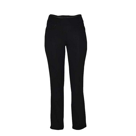Forever Young Black Classic Pull On Pant