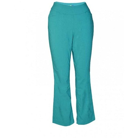 Forever Young Green Womens Pull On Pants