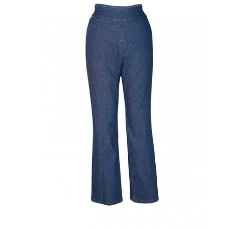 Forever Young Dark Blue Womens Pull On Pants