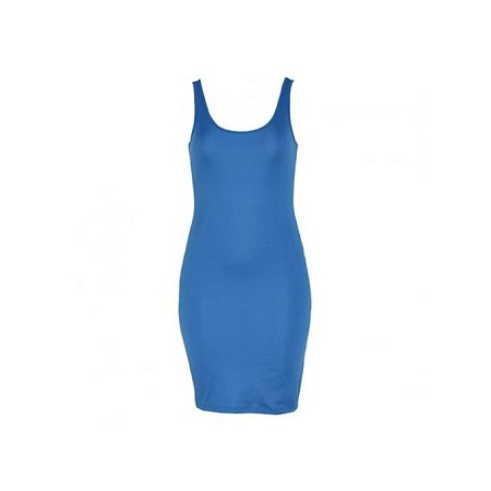 Forever Young Blue Womens Mini Dresses