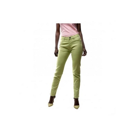 Forever Young Citrus Green Skinny Fit Women's Pants