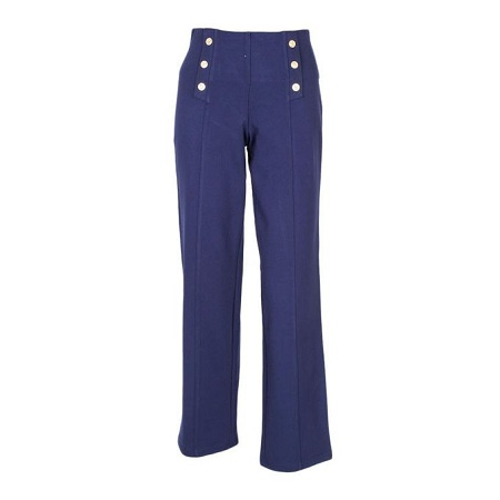 Forever Young Blue Slim Cropped Pants
