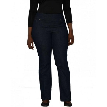Forever Young Deep Indigo Blue Classic Pull On Fit Jeans
