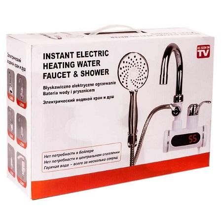 Faucet instant shower