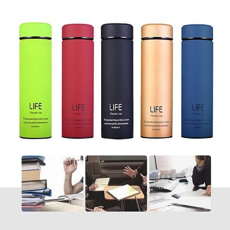 LIFE Vacuum Flask-Black