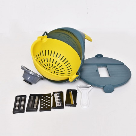Rice washer and grater and egg separator