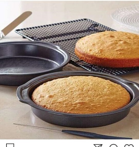 Oval cake tin