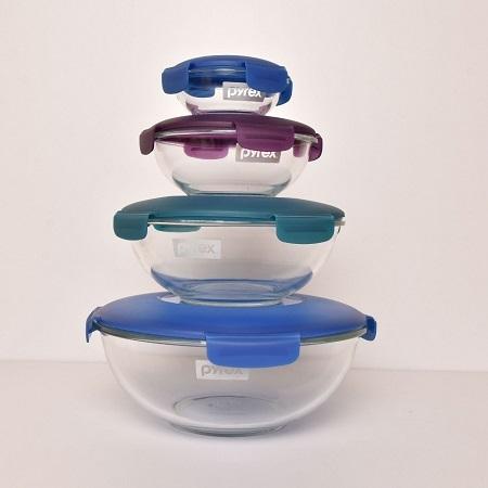 Pyrex Glass Bowl Set 8pc