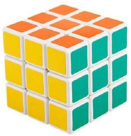 Fancy Magic Rubik's Cube for children - Multicolored Normal