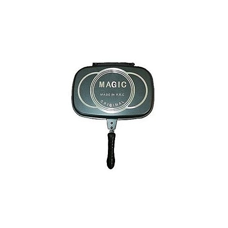 dDouble Grill Pan/Meat Grill Pan Non Stick - 36CM