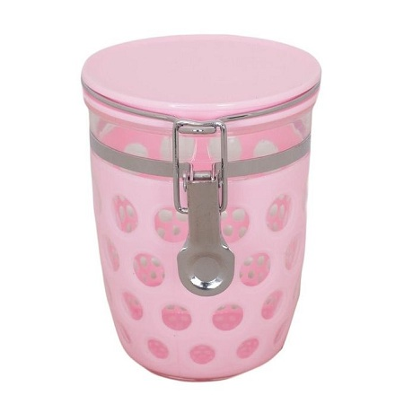 Salt & Sugar - Container/ Multipurpose Storage - Pink