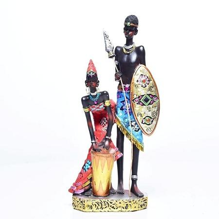 Generic African Warrior - Black