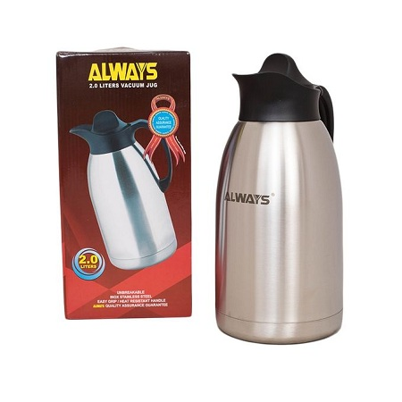 Generic Always Stainless Steel Thermos - 2.0L - Jug