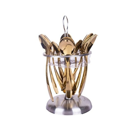 Generic Cutlery Set - 24 Pcs - Gold
