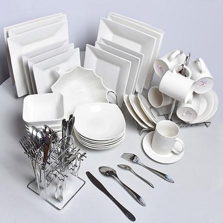Generic Dinner Set - 63 Pieces