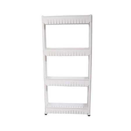 Generic Storage Tower Rack Shelf - Grey - 3