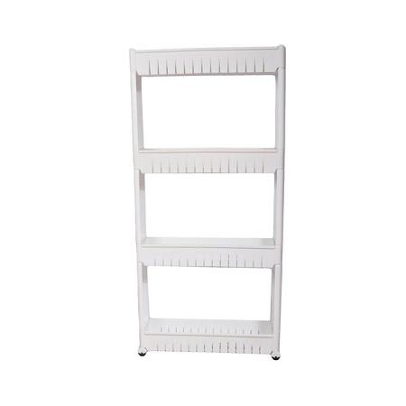 Generic Storage Tower Rack Shelf - Grey - 3