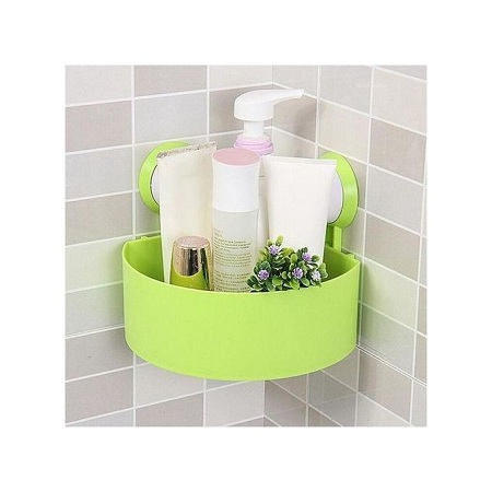 Generic Triangle Traceless Suction Bathroom Shelves
