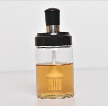 Glass Kitchen Salt Shaker